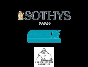 Logo's partners, Sothys Anbos, Proefdiervrij